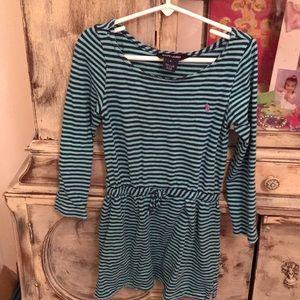 Ralph Lauren dress (Navy/green) - 5